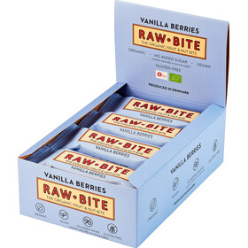 RAWBITE Bar Box 12x50g, vanilla berry
